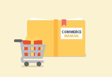 Commerce 플러그인 매뉴얼
